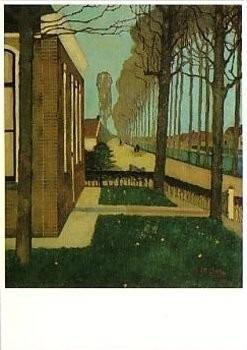 Jan Mankes (1889-1920) -Weg langs de Schoterlandse Compagnonsvaart- plakaten