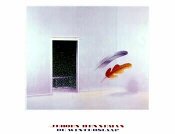 Jeroen Henneman (1942) -De Winterslaap/ 60*80/ K/ BR- plakaten
