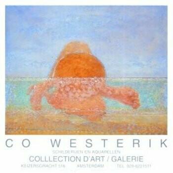 Co Westerik (1924-2018) -Co Westerik/Zwemmer 6/Br/70*50- plakaten