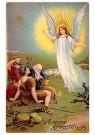 A.N.B.  -  Engel komt op bezoek - Postkaarten-set -  1C0460-1