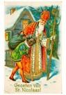 A.N.B.  -  Groeten van St. Nicolaas - Postkaarten-set -  1C1850-1