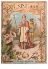 A.N.B.  -  Sint Nikolaas en zijn knecht - Postkaarten-set -  1C1870-1