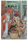 A.N.B.  -  Sinterklaas en zwarte piet - Postkaarten-set -  1C1885-1