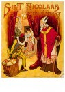 A.N.B.  -  Sint Nicolaas en zijn knecht - Postkaarten-set -  1C1900-1