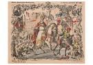 A.N.B.  -  Sinterklaas op zijn paard - Postkaarten-set -  1C1910-1