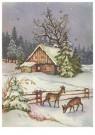 A.N.B.  -  Sneeuwlandschap - Postkaarten-set -  1C2136-1