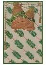 A.N.B.  -  Twee bellen en kersttakken - Postkaarten-set -  1C2139-1