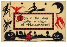 A.N.B.  -  This is the day to make a night of halloween - Postkaarten-set -  1C2190-1