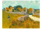 Vincent van Gogh (1853-1890)  -  Farmhouse in Provence, 1888 - Postkaarten-set -  A100115-1