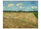 Vincent van Gogh (1853-1890)  -  Ploughed fields ('The furrows'), 1888 - Postkaarten-set -  A100343-1