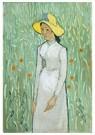 Vincent van Gogh (1853-1890)  -  Girl in White, 1890 - Postkaarten-set -  A101340-1