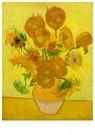 Vincent van Gogh (1853-1890)  -  Sunflowers, 1889 - Postkaarten-set -  A104174-1