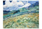 Vincent van Gogh (1853-1890)  -  Landscape from Saint-Rémy, 1889 - Postkaarten-set -  A104234-1