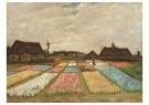Vincent van Gogh (1853-1890)  -  Flower Beds in Holland / Bulb Fields, 1883 - Postkaarten-set -  A106363-1