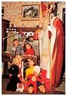 A.N.B.  -  Kinderen kijken naar Sinterklaas - Postkaarten-set -  A112531-1