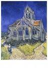 Vincent van Gogh (1853-1890)  -  Houses at Auvers, 1890 - Postkaarten-set -  A112974-1