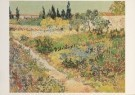 Vincent van Gogh (1853-1890)  -  Tuin te Arles - Postkaarten-set -  A3126-1