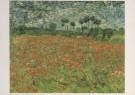 Vincent van Gogh (1853-1890)  -  Papaverveld - Postkaarten-set -  A3127-1