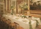 -  Gedekte tafel, AudiUntiezaal met 19e eeuws Meissen - Postkaarten-set -  A6016-1