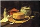 Vincent van Gogh (1853-1890)  -  V.v.Gogh/Silleven,gele hoed/KM - Postkaarten-set -  A6533-1