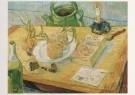 Vincent van Gogh (1853-1890)  -  Stilleven met tekenplank. tabakspijp, uien - Still - Postkaarten-set -  A7582-1