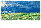 Vincent van Gogh (1853-1890)  -  Wheatfield under thunderclouds, 1890 - Postkaarten-set -  A90482-1
