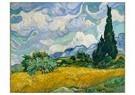 Vincent van Gogh (1853-1890)  -  Wheat Field with Cypresses, 1889 - Postkaarten-set -  A92252-1