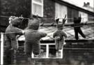 David Montford  -  Teddy bears on wash - Postkaarten-set -  B1721-1