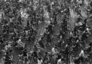 Fu Chun Wang  -  Rush Hour in Shanghai, China, 1988 - Postkaarten-set -  B2944-1