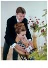 Spaarnestad Fotoarchief,  -  Huwelijksaanzoek bij de kerstboom - Postkaarten-set -  D1188-1