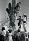 Spaarnestad Fotoarchief,  -  Kerstmis, kerstviering in de woestijn van Tuscon - Postkaarten-set -  D1205-1