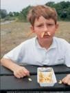 Ronald Hammega (1948)  -  De patat komt m'n neus en oren uit / fries / frites / friet - Postkaarten-set -  PC105-1