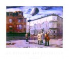 Carel Willink (1900-1983)  -  Zeppelin - Postkaarten-set -  PS041-1