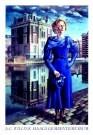 Carel Willink (1900-1983)  -  Blauwe Wilma - Postkaarten-set -  PS042-1