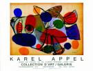 Karel Appel (1921-2006)  -  Het Zonnedier/ 60*75/ K/Br - Posters-set -  PS047-1