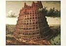 Pieter Bruegel der Ältere  -  Toren Babel - Postkaarten-set -  PS1000-1