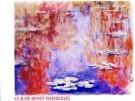 Claude Monet (1840-1926)  -  Waterlilies - Postkaarten-set -  PS112-1