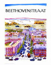 -  Beethovenstraat/ 63x50cm/ K - Posters-set -  PS129-1