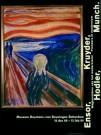 Edvard Munch (1863-1944)  -  Munch/De Schreeuw/60*80/BvB/BR - Posters-set -  PS381-1