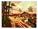 Cornelis Jetses (1873-1955)  -  Heide in mei - Postkaarten-set -  PS545-1