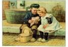 Cornelis Jetses (1873-1955)  -  Ot en Sien - Postkaarten-set -  PS552-1