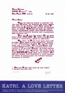 Giora Katri  -  Giora Katri/love letter/68x47, - Posters-set -  PS681-1