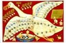 Daan Hoeksema (1879-1935)  -  D.Hoeksema/Ganzenbord/40*60. - Postkaarten-set -  PS723-1