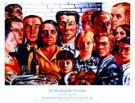 Charley Toorop (1891-1955)  -  C.Toorop/Maaltijd der Vrienden - Posters-set -  PS776-1