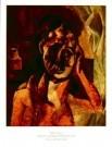 Pablo Picasso (1881-1973)  -  Vrouw mosterd - Postkaarten-set -  PS779-1