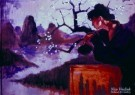 Nico Vrielink (1958)  -  Bloesemvrouw - Postkaarten-set -  PS797-1