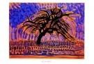 Piet Mondriaan (1872-1944)  -  De blauwe boom - Postkaarten-set -  PS824-1