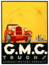 Jan Lavies (1902-2005)  -  Lavies/GMC trucks / 60*80 - Posters-set -  PS865-1