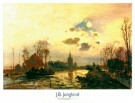 Johan B. Jongkind (1819-1891)  -  Rijksmuseum Twente - Postkaarten-set -  PS915-1