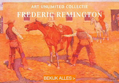 Frederic Remington postkaarten
